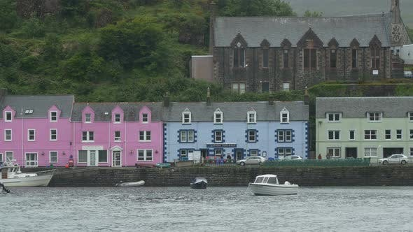 Thumbnail for Buildings on a harbor quay
