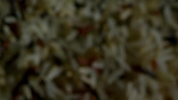 Thumbnail for Colorful Long Rice on Dark Background