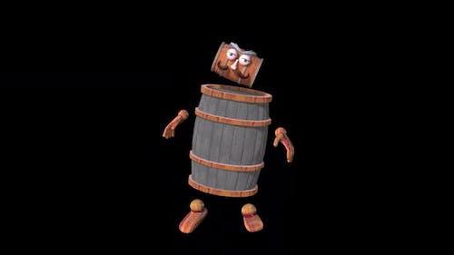 Old Wooden Barrel Loop Dance