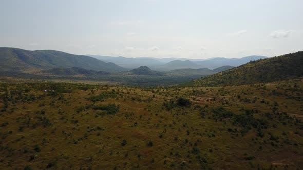 Thumbnail for Aerial view from Pilanesberg Game Reserve