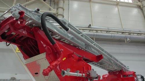 Fire Ladder Crane