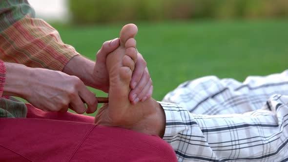 Thai Foot Massage Treatment