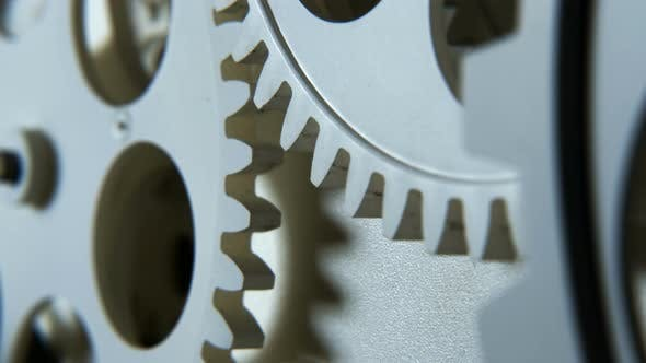 Thumbnail for Abstrat Industrial Clock Gears 14