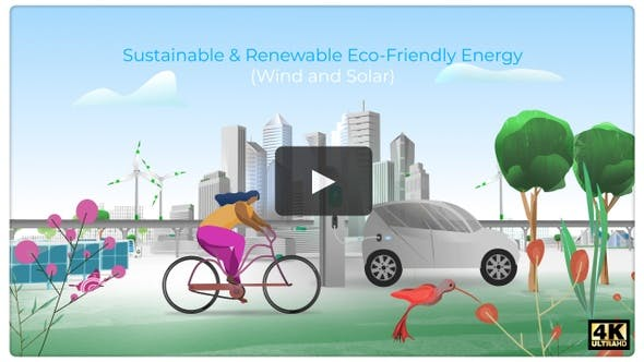 Thumbnail for Sustainable & Renewable Eco-Friendly Energy (Wind & Solar)