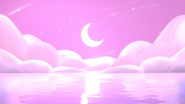 Thumbnail for Pink Sea And Moon