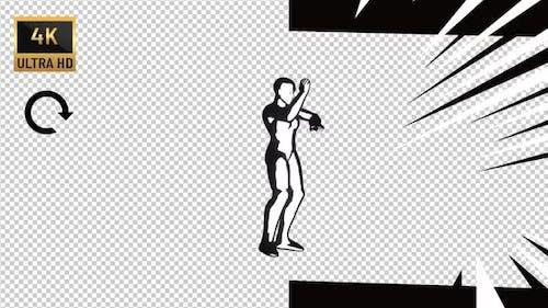 Comics Ninja and Kung-Fu