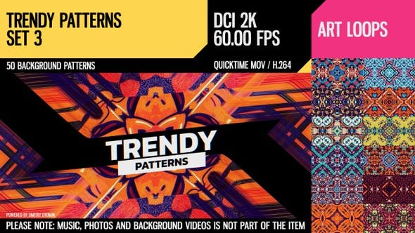Thumbnail for Trendy Patterns (2K Set 3)