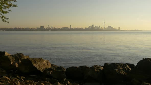 Thumbnail for Toronto skyline as seen from the islands