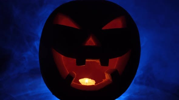 Thumbnail for Halloween Pumpkin and Mist