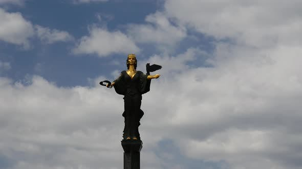 Thumbnail for Time lapse from Statue of Saint Sofia