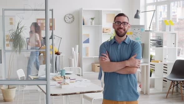 Thumbnail for Portrait of Smiling Successful Businessman