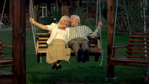 Couple on a Porch Swing
