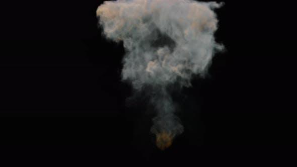 Big Fire Explosion 4K