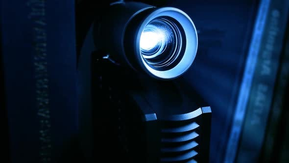 Thumbnail for Video Projector in the Office, Conference or Classroom.