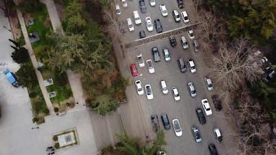 Huge Traffic Aerial