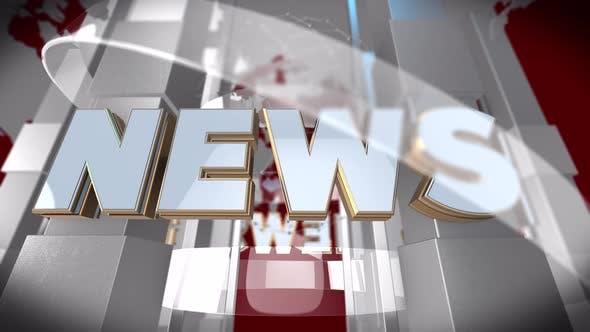 News Background (Seamless Loop)