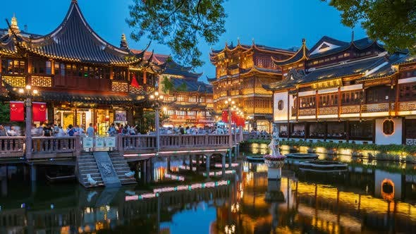 Thumbnail for Shanghai, China | The Yu Garden at Dusk