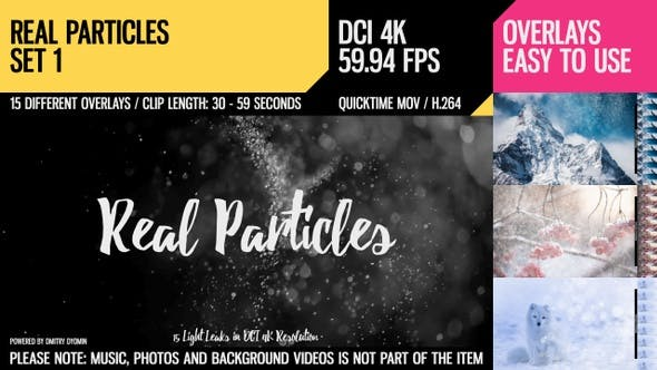 Thumbnail for Real Particles (4K Set 1)