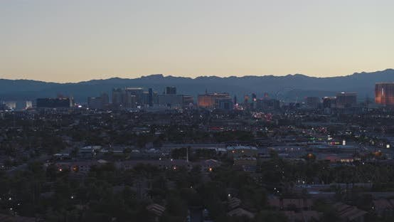 Las Vegas Panorama 4K