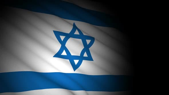 Thumbnail for Israel Flag Blowing in Wind