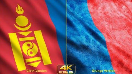 Mongolia Flags