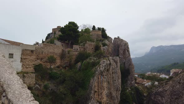 Thumbnail for Medieval Castle on Top of the Mountain.