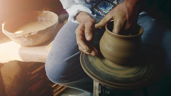 Thumbnail for Potter's Wheel in Work