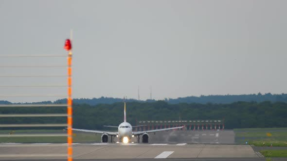Airplane Takeoff Moment