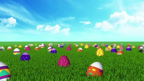 Thumbnail for Easter Egg Field 02 Hd