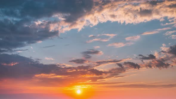 Sonnenaufgang-