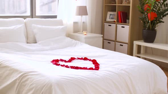 Thumbnail for Cozy Bedroom Decorated for Valentines Day 63