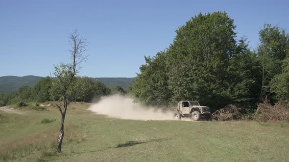 Thumbnail for Offroading on a country road