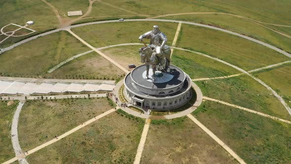 Thumbnail for Statue of Genghis Khan in Mongolia