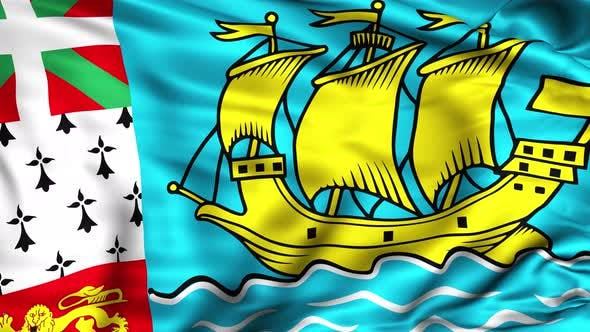 Thumbnail for Saint Pierre and Miquelon Flag