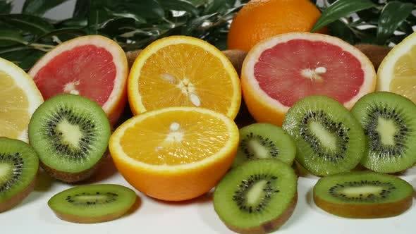 Thumbnail for Beautiful Colorful And Juicy Citrus Fruits