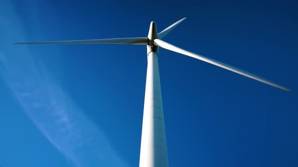 Thumbnail for Wind turbine on a clear day