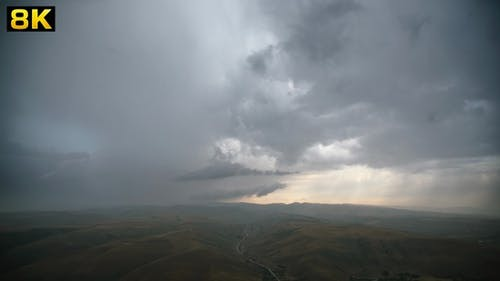First Rain After the Drought at Continental Terrestrial Climate