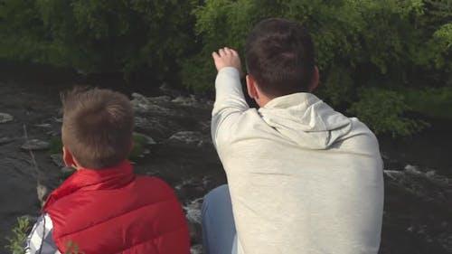 Exploring with Dad