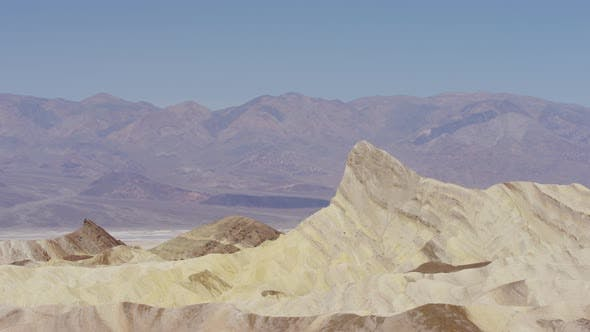 Manly Beacon in Death Valley
