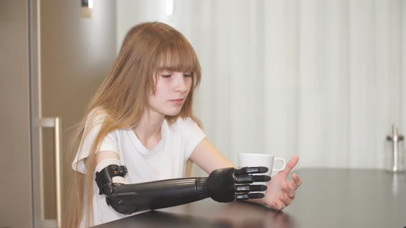 Thumbnail for Adaptation, Young Girl Learning To Hold a Cup of Tea