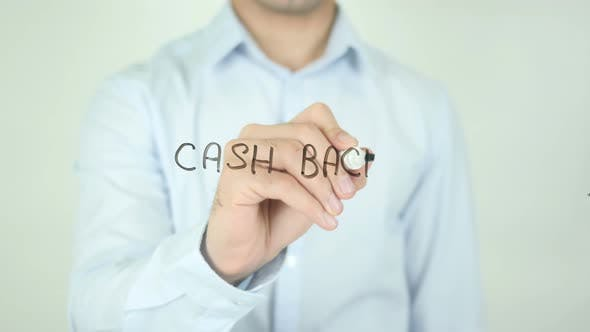 Thumbnail for Cash Back, Writing On Screen