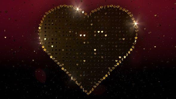 Valentines Herz Glitter 9
