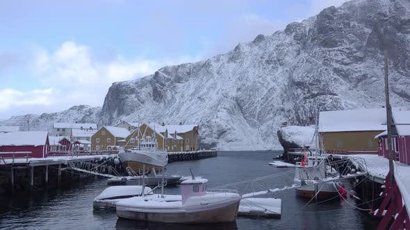 Cover Image for Winter Harbor in Norway