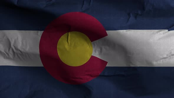 Colorado State Flag 4K