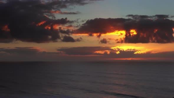 Thumbnail for Sunset in Atlantic Ocean, Morocco Coast