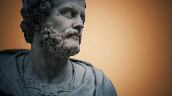 Thumbnail for Annibal Antique Marble Statue