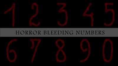 Horror Bleeding Numbers