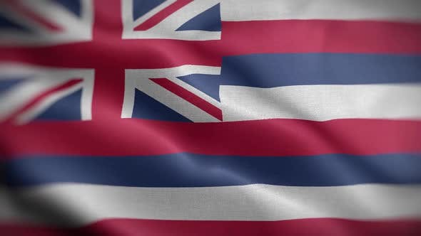 Hawaii State Flag Front HD