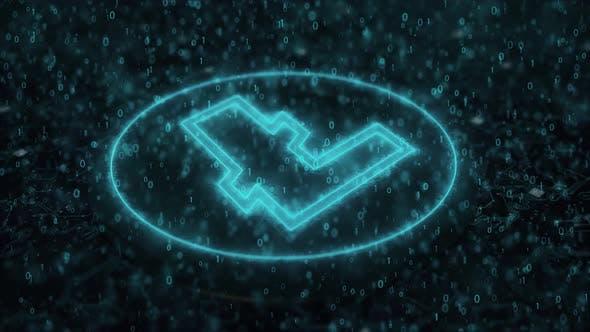 Litecoin Ltc Blockchain Dijital Kryptowährung 4K
