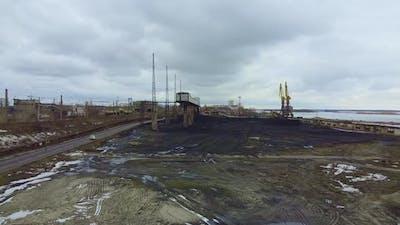Coal Terminal in a Big City